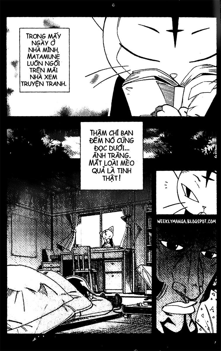 Shaman King [Vua pháp thuật] chap 163 trang 14