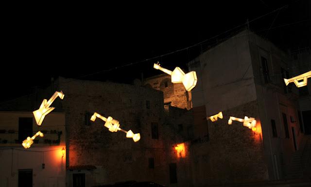 Luci d'Artista, Natale 2017, Ruvo di Puglia, Piazza Le Monache