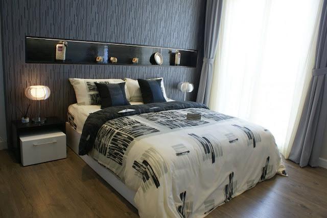 Phòng ngủ khu Biệt thự - Nhà phố Park River Side quận 9 HCM