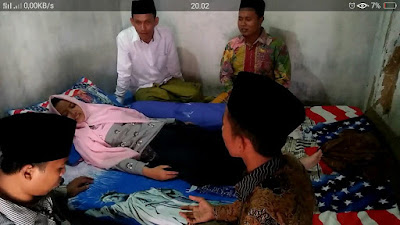 Forum LSM Pamekasan Besuk Korban Imunisasi Difteri