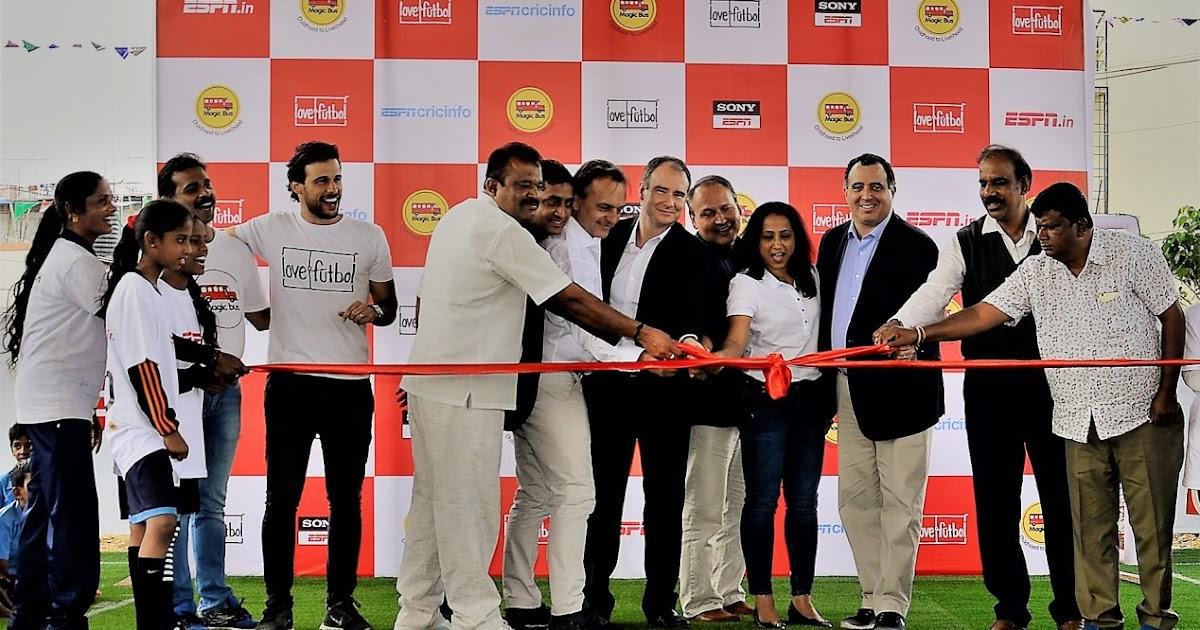 ESPN DEDICATES MULTIFUNCTIONAL SPORTS SPACE IN BANGALORE, INDIA