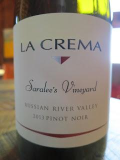 La Crema Saralee's Vineyard Pinot Noir 2013 (89 pts)