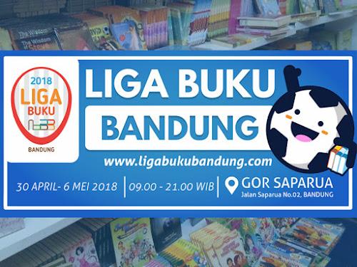 Liga Buku Bandung 2018 di GOR Saparua