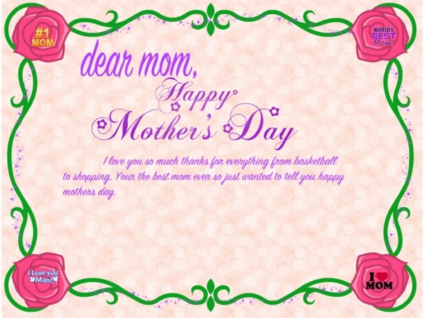 Mothers Day Cards, Poems And Message 2017