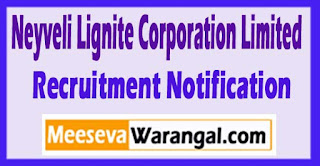 NLC Neyveli Lignite Corporation Limited Recruitment Notification 2017 Last Date 05-06-2017