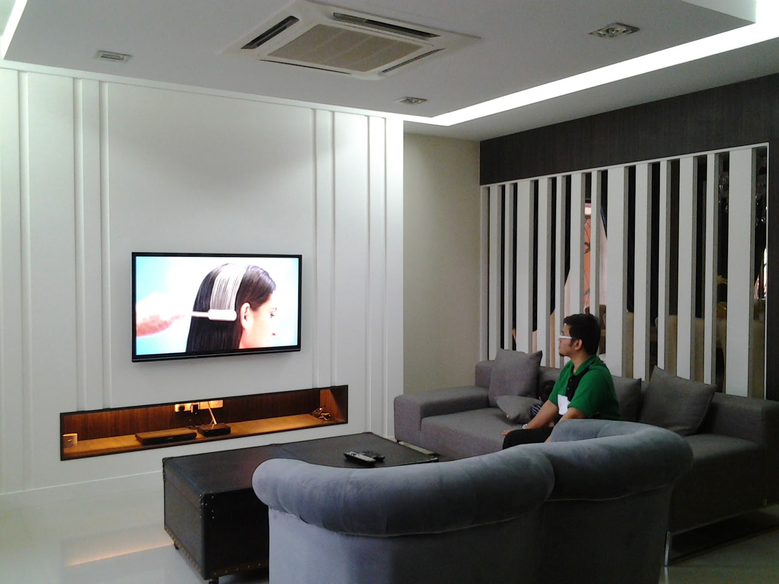 Airaniez S Life Tips Rekaan Kabinet Tv Tv Cabinet Design Tips