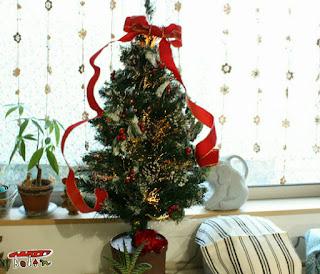 クリスマスツリーグラスファイバー