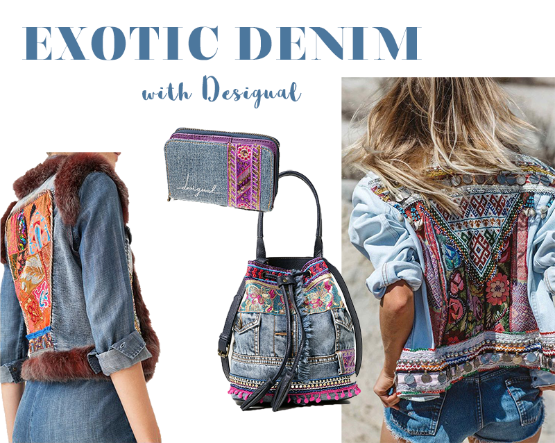 Desigual-Look-Denim-Jeans-Exotic-Denim Look-Online Shop-Shop-Look-ootd-outfit-Streetstyle-Blogger-Modeblog-Fashionblog-Blogger-Bloggerlook-Mode-Munich-Muenchen-Deutschland-Lauralamode