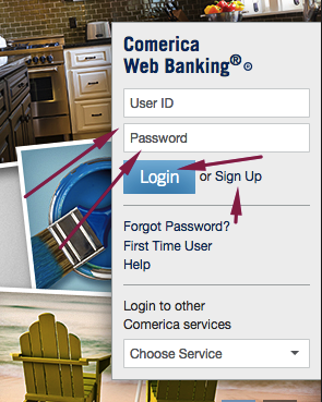 Sign in to view your Comerica accounts, pay bills, and transfe
