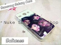 Hasil Jadi Cetak Softcase Handphone Samsung Galaxy Core