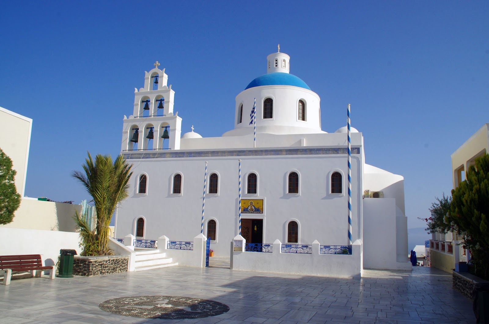 Church Oia Santorini