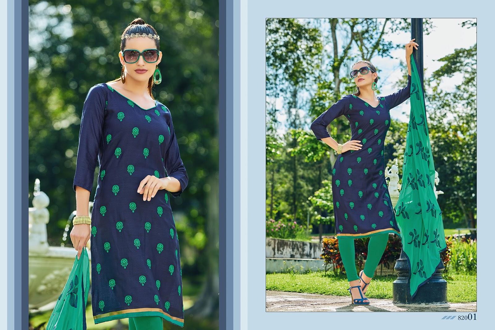 Kavvya-82(Currency)-New Arrival Mumbai Cotton Dress Material