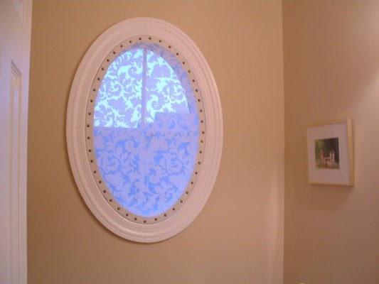 interior design musings: Tricky Oval Window