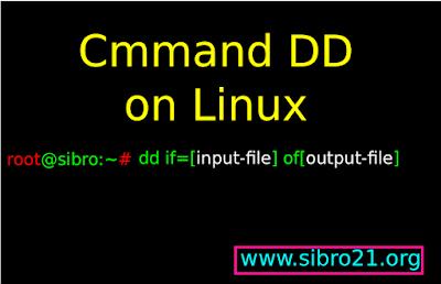 Arti Perintah dd di Terminal Linux