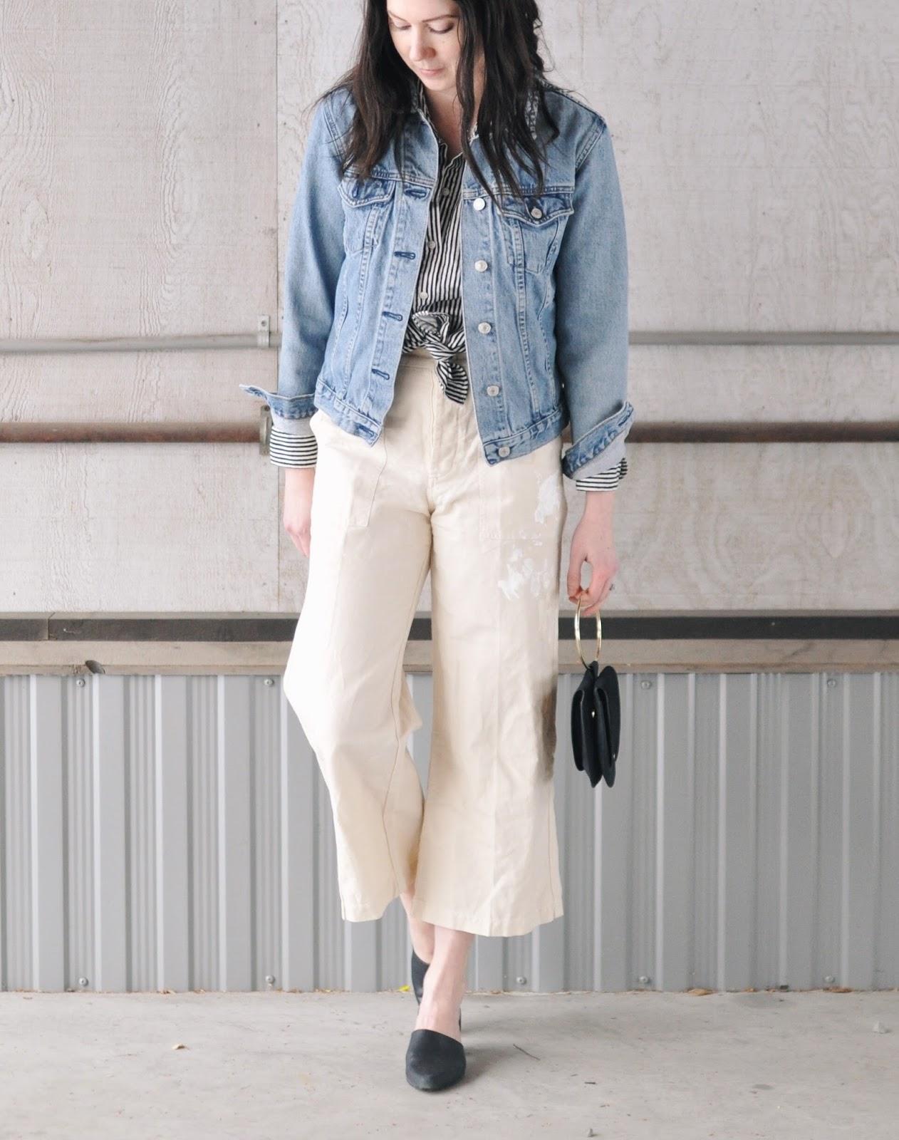 outfits alaska spring culottes blogger anchorage