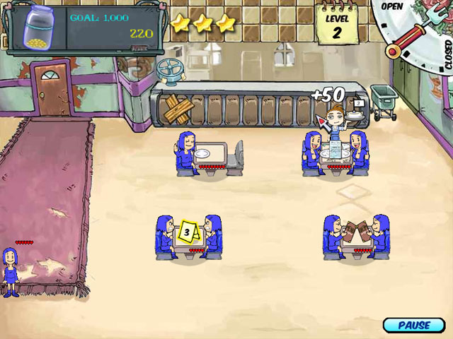 Diner Dash 2: Restaurant Rescue - Free Online Games ...