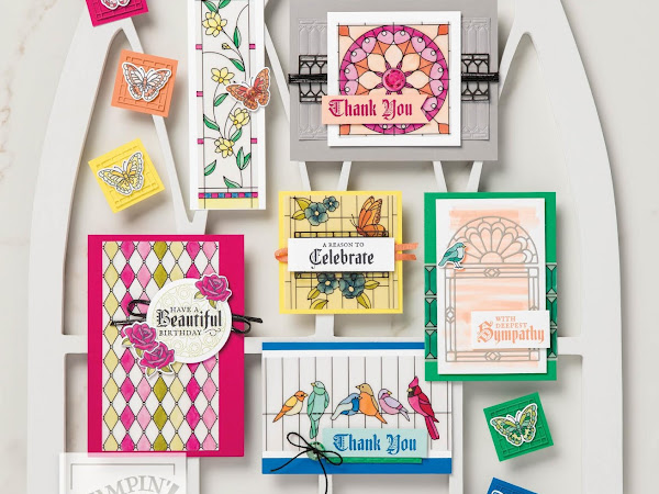 Stampin' Up! Watch It Wednesday - Graceful Glass Suite by Stampin' Up!