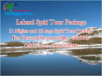 Lahaul Spiti tour 11 night 12 days