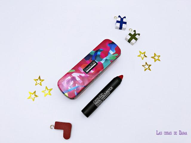 Navidad Camaleon Magic Colourstick Edición Limitada labiales lipred lipstick maquillaje makeup farmacia