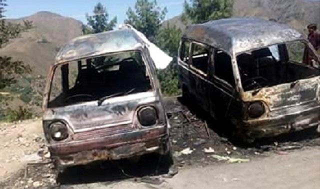 Gadis Dibakar Hidup-Hidup Dalam Van Selepas Diberi Dadah