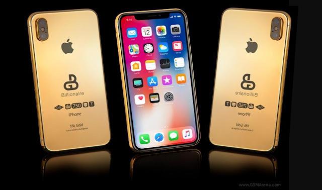 Ngeri ! Iphone 2018 Berlapis Emas Di Hargai Rp 1,8 Miliar !