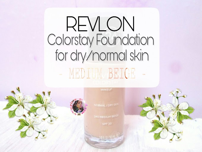 Review Revlon Colorstay Foundation for Normal/Dry Skin - Medium Beige