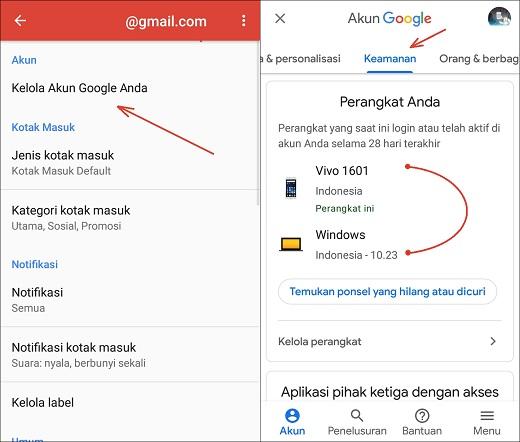 Cara Logout Akun Gmail / Google Dari Perangkat Lain Dengan Mudah