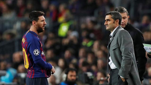 مدرب برشلونة يحذر لاعبيه من مصير ريال مدريد