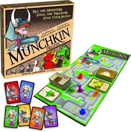 The Card Game: Munchkin The Card Game