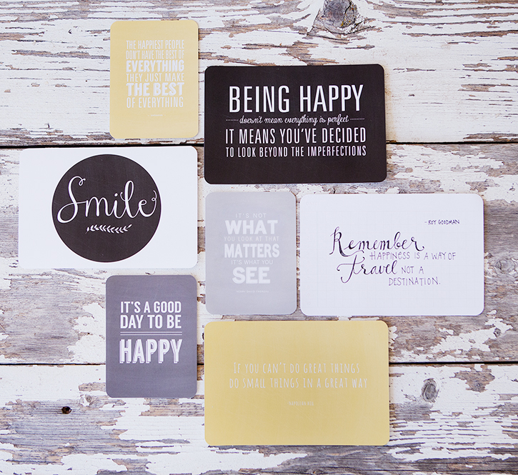 Favorite Quotes Mini Album + Printables