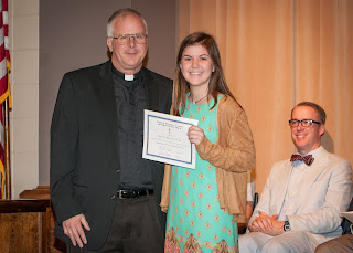 Montgomery Catholic High School Academic Awards Ceremony Held May 9 1