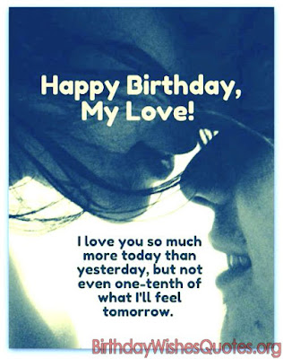 Happy Birthday My Love Messages
