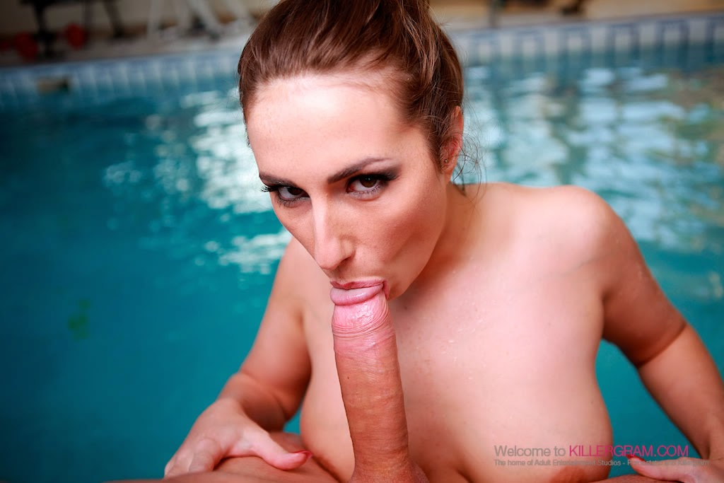 Killergram sexy paige turnah gets spread open and fucked hard