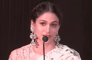Actress Lavanya Tripathi Speech at Maayavan Film Audio Launch