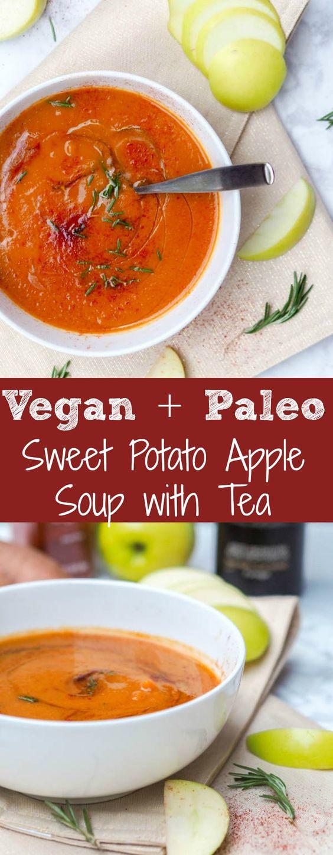 Vegan Sweet Potato Soup {Gluten-Free}