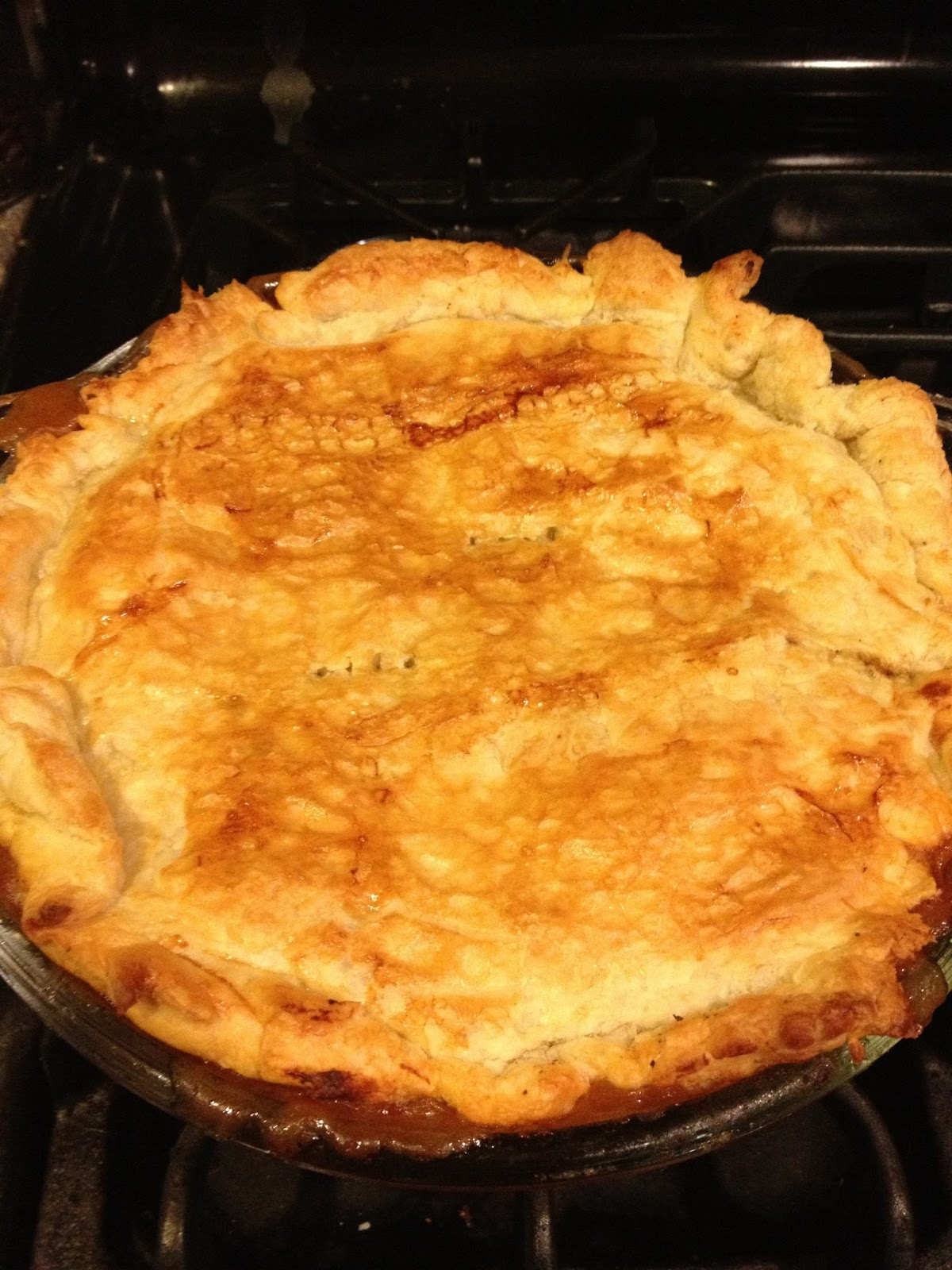 Foods I attempt to cook: Steak Pot Pie