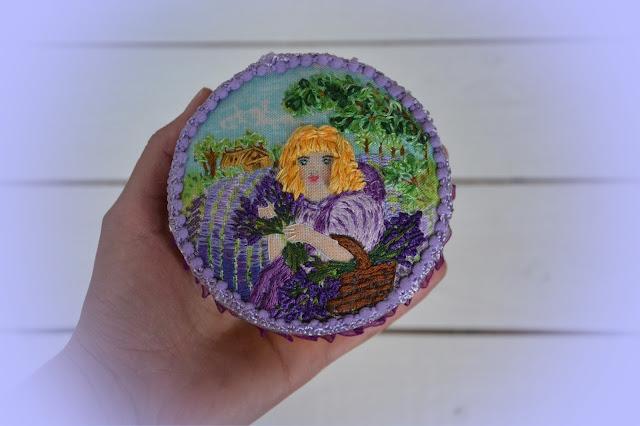 лаванда, лавандовая шкатулка