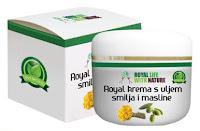 Роял крем с масла от безсмъртниче и маслини