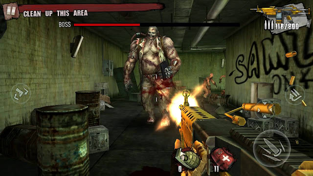 Game Zombie Frontier