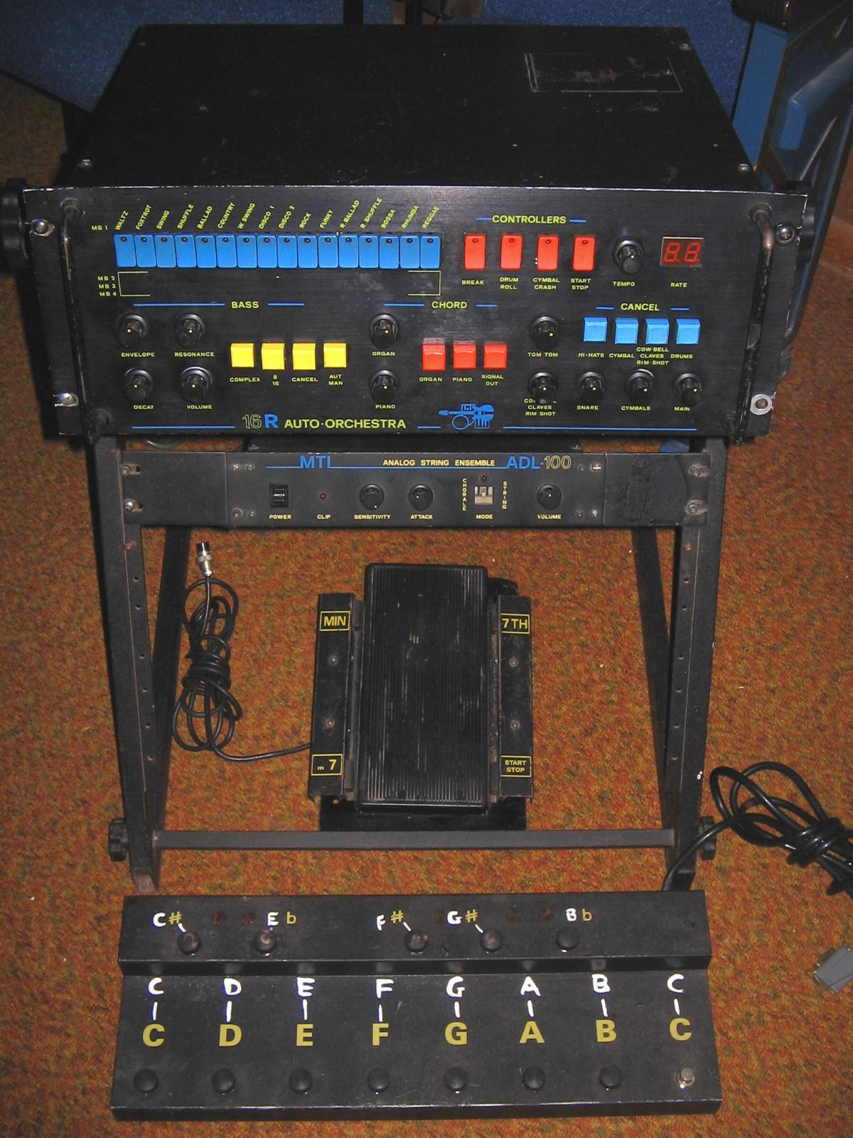 Matrix Auto Sales >> MATRIXSYNTH: Vintage 1980's MTI Auto Orchestra 16R Analog ...