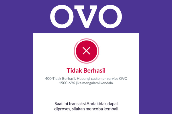 mengatasi OVO gagal login