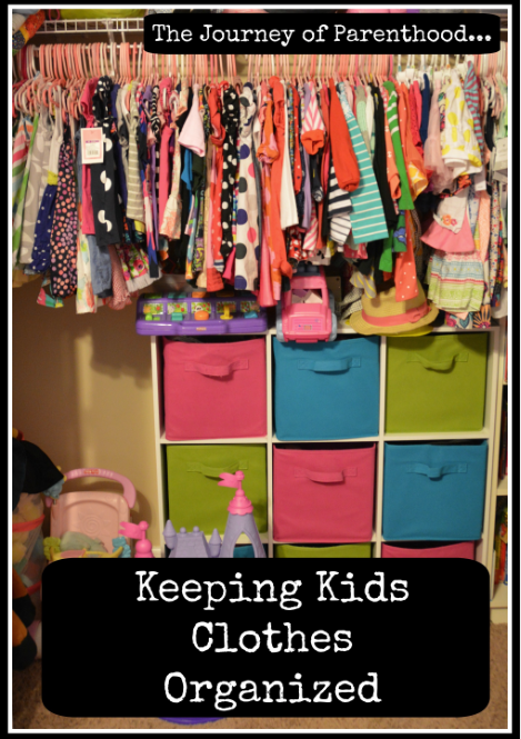 Keeping Kids Clothing Organized
