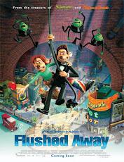 pelicula Lo que el agua se llevo (Flushed Away) (2006)