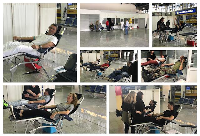 Πραγματοποιήθηκε η εθελοντική αιμοδοσία από την Ένωση Προσωπικού Λιμενικού Σώματος ΒορειοΔυτικής Ελλάδας