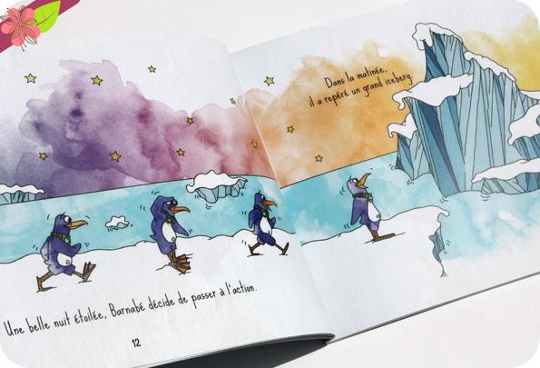 Barnabé - le rêve d'un petit manchot de LouP et Lucien - Touches d'encre