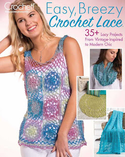 Easy, Breezy Crochet Lace cover - book review on CGOANow!