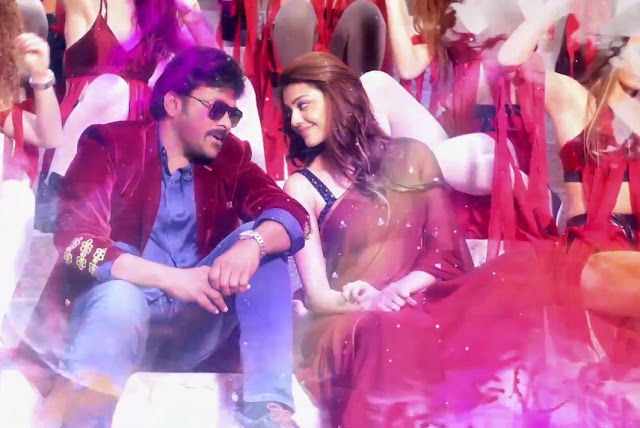 You and me song stills from khaidi no 150
