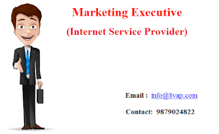 Marketing Executive (Internet Service Provider)
