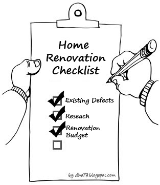 Home Renovation Checklist ~ ♥ Apartment Therapy in Little