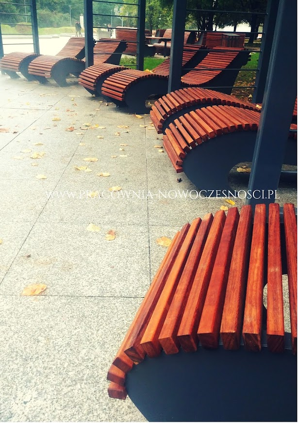 leżaki miejskie